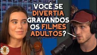 LOGAN PAUL PERGUNTA A LANA RHOADES SE ELA GOSTAVA DE ATUAR NOS FILMES ADULTOS   LEGENDADO