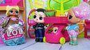 КАК ДЕЛАЮТ КИНДЕР СЮРПРИЗЫ Малышка ЛОЛ спряталась от папы! Куклы Лол сюрприз мультики с куклами