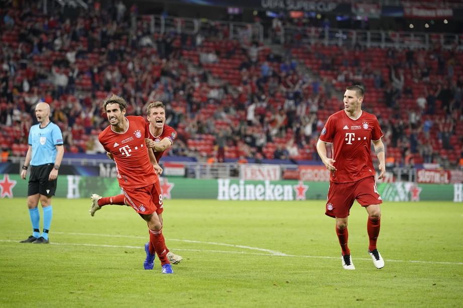 «Бавария» победила «Севилью» и во второй раз выиграла Суперкубок УЕФА (Видео)