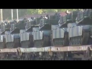 Армия США по тревоге перебрасывает бронетехнику в Европу из-за угрозы вторжения России в Украину