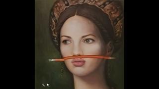 Ожившие 22 а портрета красавиц – при помощи нейросетей