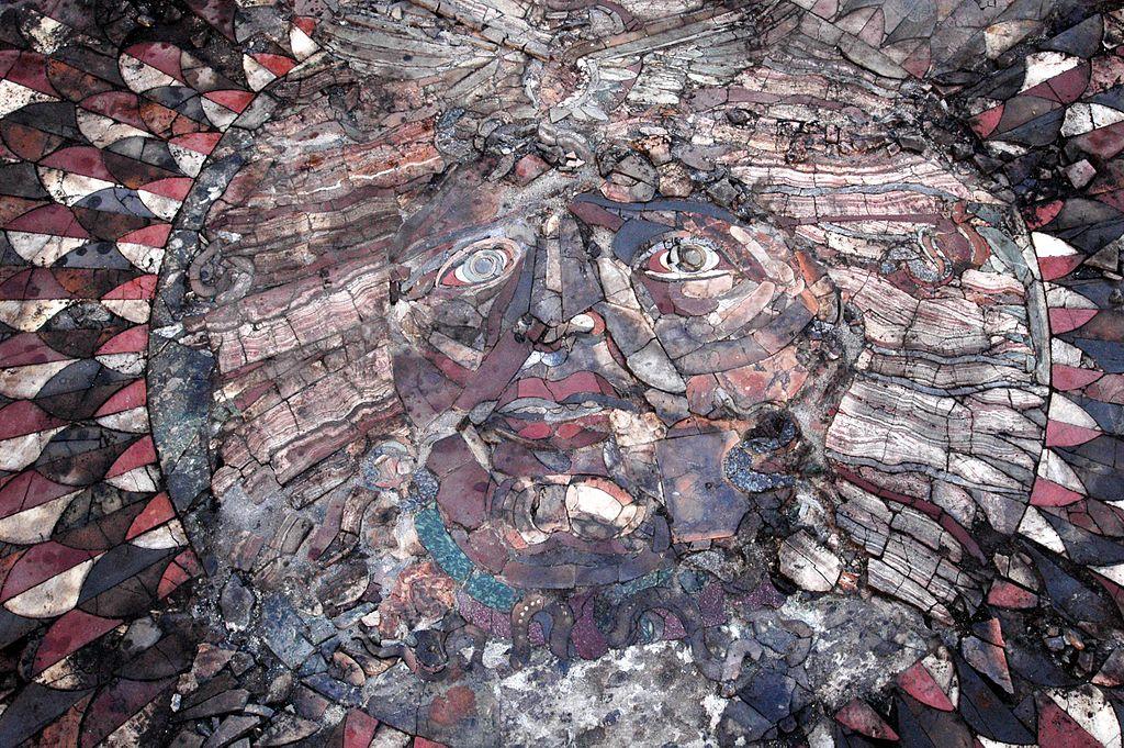 Мозаика Медузы из Кибиры