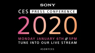 Sony CES 2020 Press Conference
