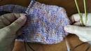 Вязание для начинающих как связать очень простые тапочки спицами