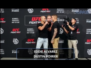 UFC Calgary: Media day face-offs