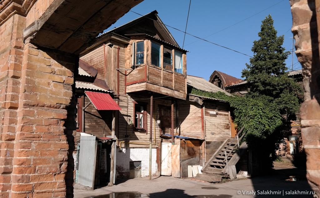 Старые дома в центре Самары 2020