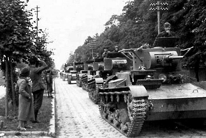 Сентябрь 39-го: «К утру, комбриг, ты должен быть со своими танками в Бресте. И обяжешь немцев уйти из города»