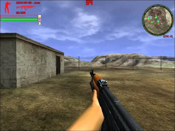Delta Force Xtreme World In Quarentine Mod zombie and weapon test