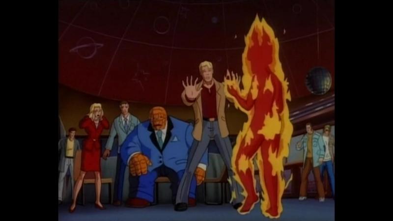 Фантастическая Четвёрка Fantastic Four Вызываем Галактуса 21 Серия