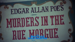 Murders in the Rue Morgue (1971) title sequence