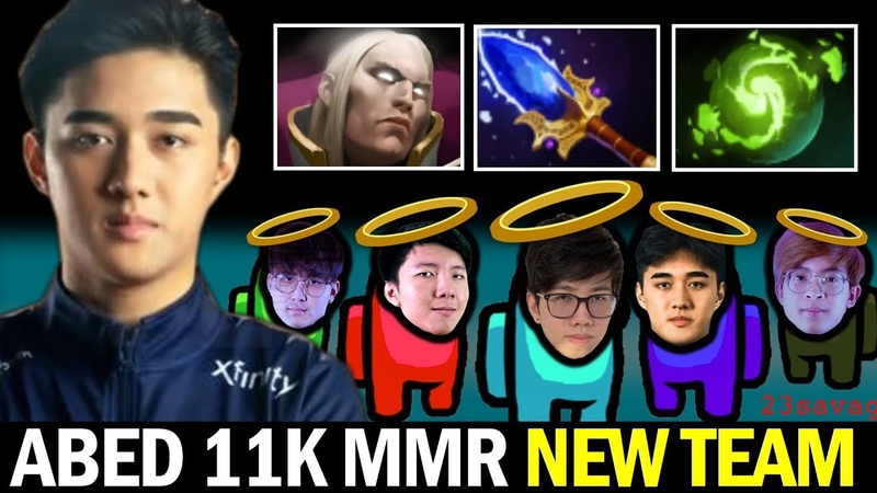 ABED 2x 11K MMR New Team for BTS Pro Series — Invoker Refresher Combo