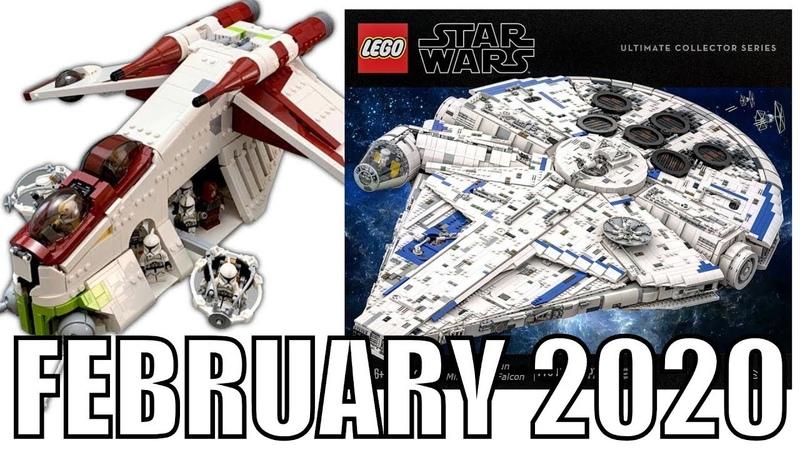 LEGO Star Wars Jedi: Fallen Order UCS REPUBLIC GUNSHIP! | BEST LEGO MOCS FEBRUARY 2020