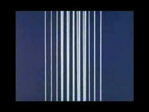 Norman McLaren Lignes verticales Lines vertical