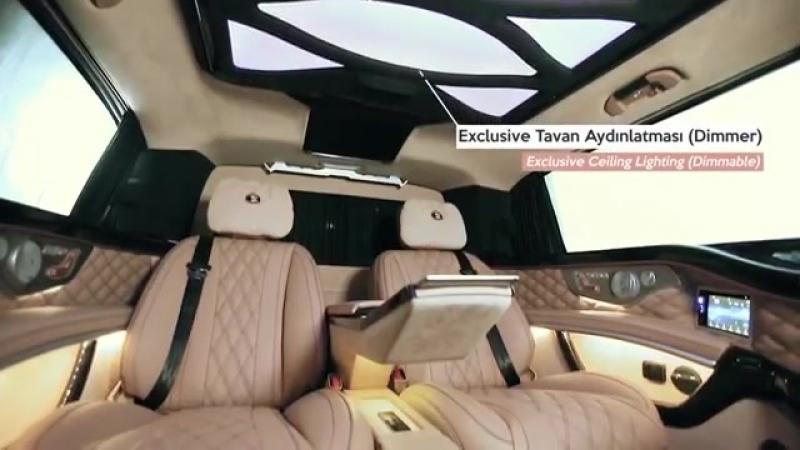 Ertex Luxury Car Design Mercedes V Class