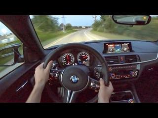 2020 BMW M2 Competition (DCT) - POV Night Drive (Binaural Audio)