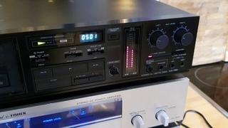 Обзор, демонстрация работоспособности и тест записи кассетной деки Kenwood KX 780