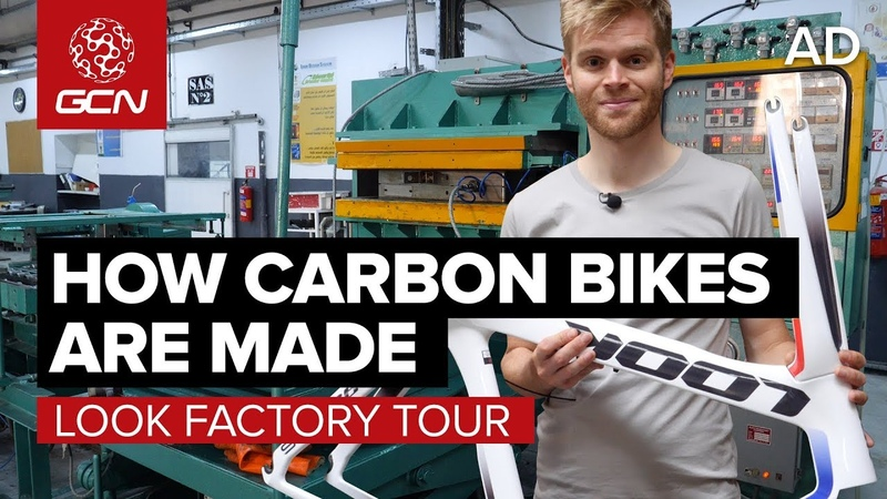 How Are Carbon Fibre Bikes Made LOOK Cycle Factory Tour