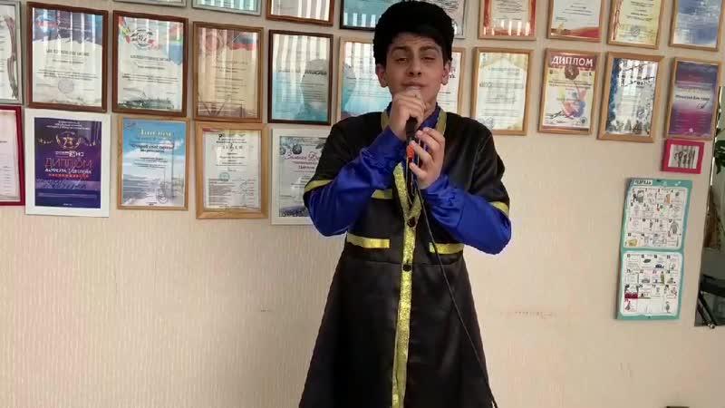 Интигам Абдуллаев Лига азербайджанцев Тольятти исполняет песню Журавли
