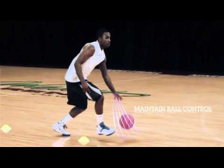 Nike Pro Training Drills, Ty Lawson, Dribbling, Cone Drill