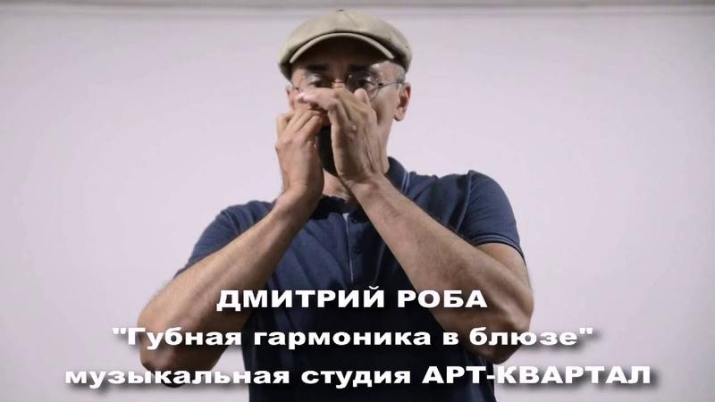 Дмитрий Роба. Семинар Губная гармоника в блюзе. Инструмент как олицетворение жанра