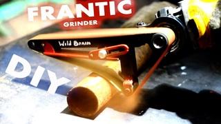 DIY Angle grinder hack, homemade belt sander. Power File