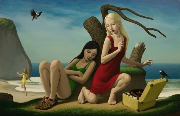 Картины Джона Таратеффа можно рассматривать как повествовательные и символические, возможно, даже аллегорические, но они никогда не кажутся дидактическими Двусмысленность выражений его фигур