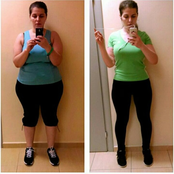 От чего быстрый эффект похудения