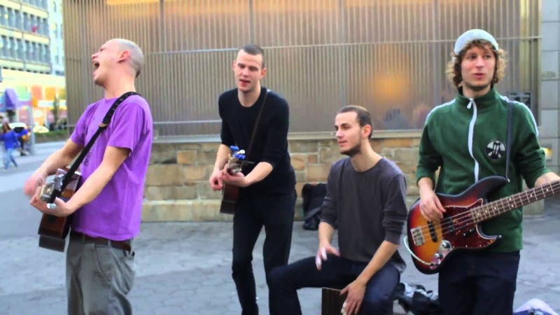 Brothers Moving Minnie the Moocher @ Union Square NYC The Back of the Busk