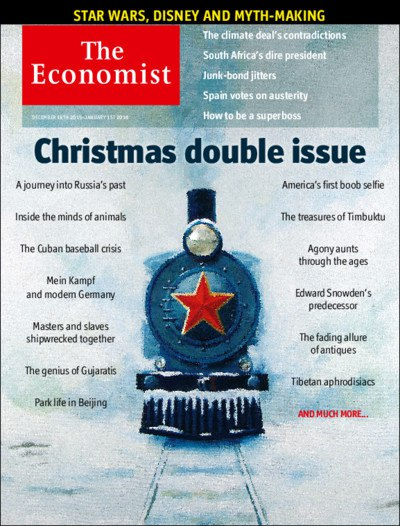 THE ECONOMIST - AUDIO EDITION ( 19th - 25th December 2015 )