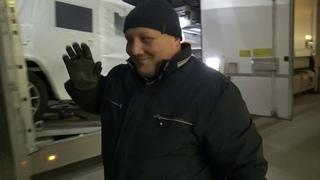 Обучение нового водителя. Последний этап стажировки. Выгрузка G63 и GLЕ в Санкт-Петербурге.