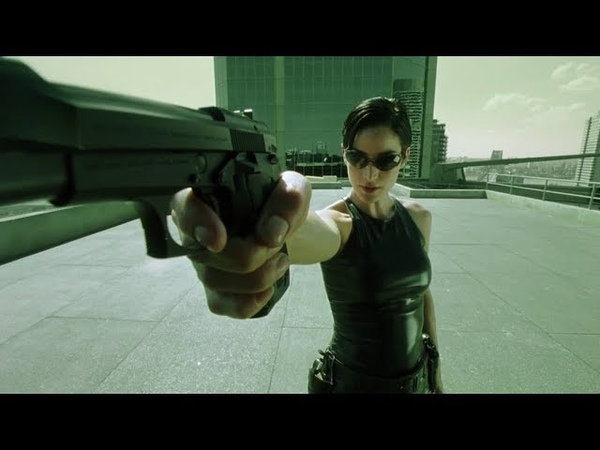 Dodge this slo mo bullet time The Matrix Open Matte