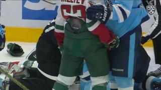 KHL Fight: Yermakov VS Voronkov