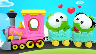Om Nom cartoon video for kids! Super Noms Plastilina Play Doh cooking videos for kids