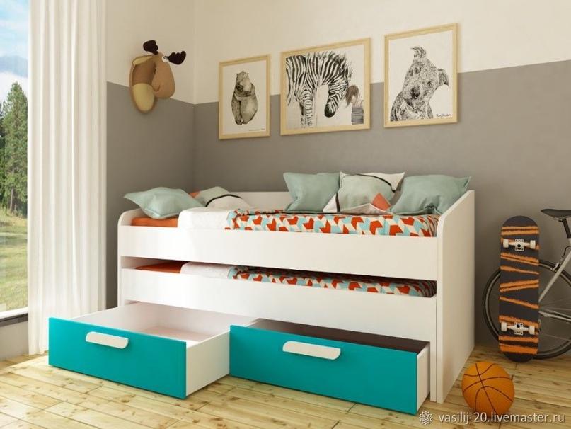 Плюсы и минусы двухъярусных выдвижных кроватей, популярные дизайны, изображение №24