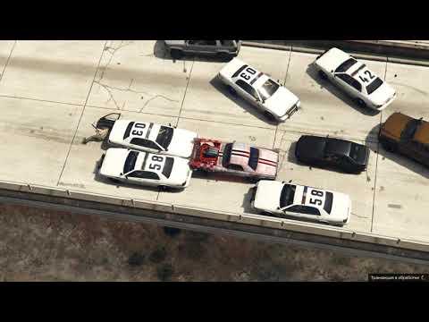 GTA5 drive off cops