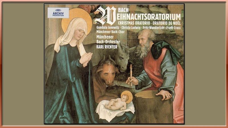 Bach - Christmas Oratorio, BWV 248 - Karl Richter - Complete Oratory