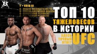 HS ТОЧНЫЙ ОТВЕТ: ТОП 10 ЛУЧШИХ ТЯЖЕЛОВЕСОВ В ИСТОРИИ UFC