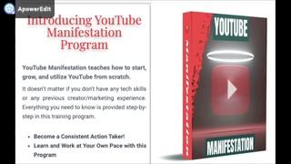 Youtube Manifestation Program Review: Is Youtube Manifestation Program Legit?
