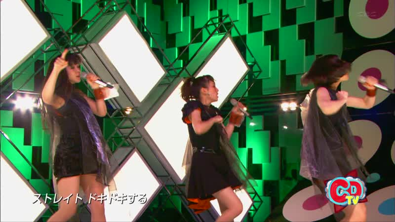 Perfume - Laser Beam (CDTV 2011.05.22)