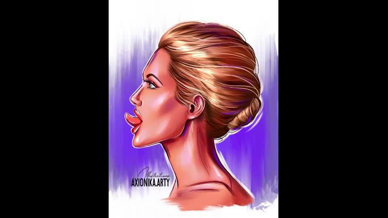 Любимая Анджелина Джоли Новый арт