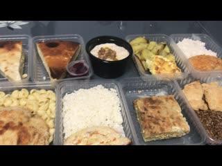 Обзор линейки из трёх блюд за 358 руб. в день.