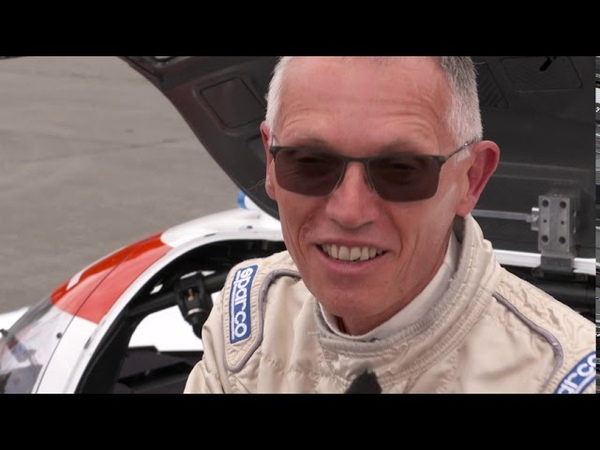 Mission H24 Carlos Tavares reacts to his first ride on our hydrogen powered racing car