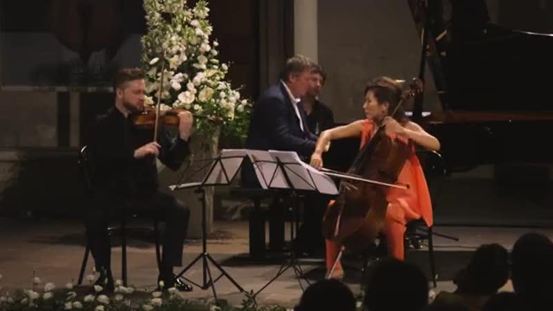 A Pietrasanta Berezovsky Zhao e Milyukov eseguono il Trio di Tchaikowsky