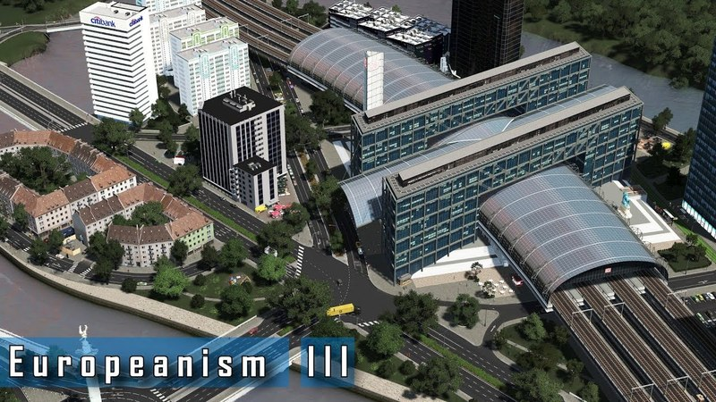 Cities Skylines - E u r o p e a n i s m III - Trams and modern development experimentation