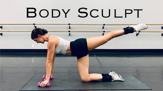 BODY SCULPT | Full body workout | Toning | No jumping
