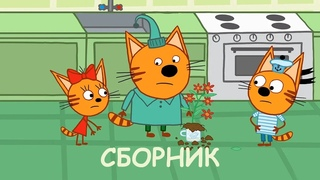 Три Кота   Сборник Летних Приключений   Мультфильмы для детей 2020