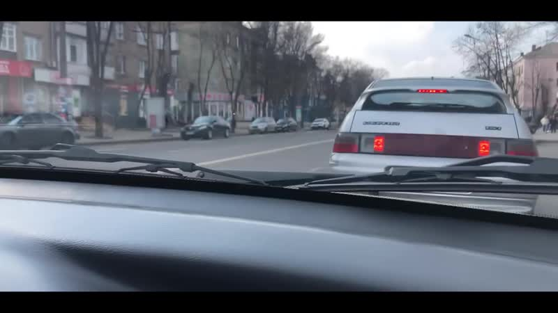 Очень громкий ланос реакция людей на громкую музыку валим по городу Krivbass