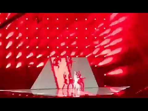 Eurovision 2021 Cyprus Elena Tsagrinou El Diablo 2nd Rehearsal @ Ahoy Arena