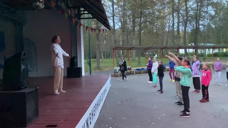 Мастер класс от Ксении Грабалиной по танцевальному стилю Хаус на Киберфесте 17