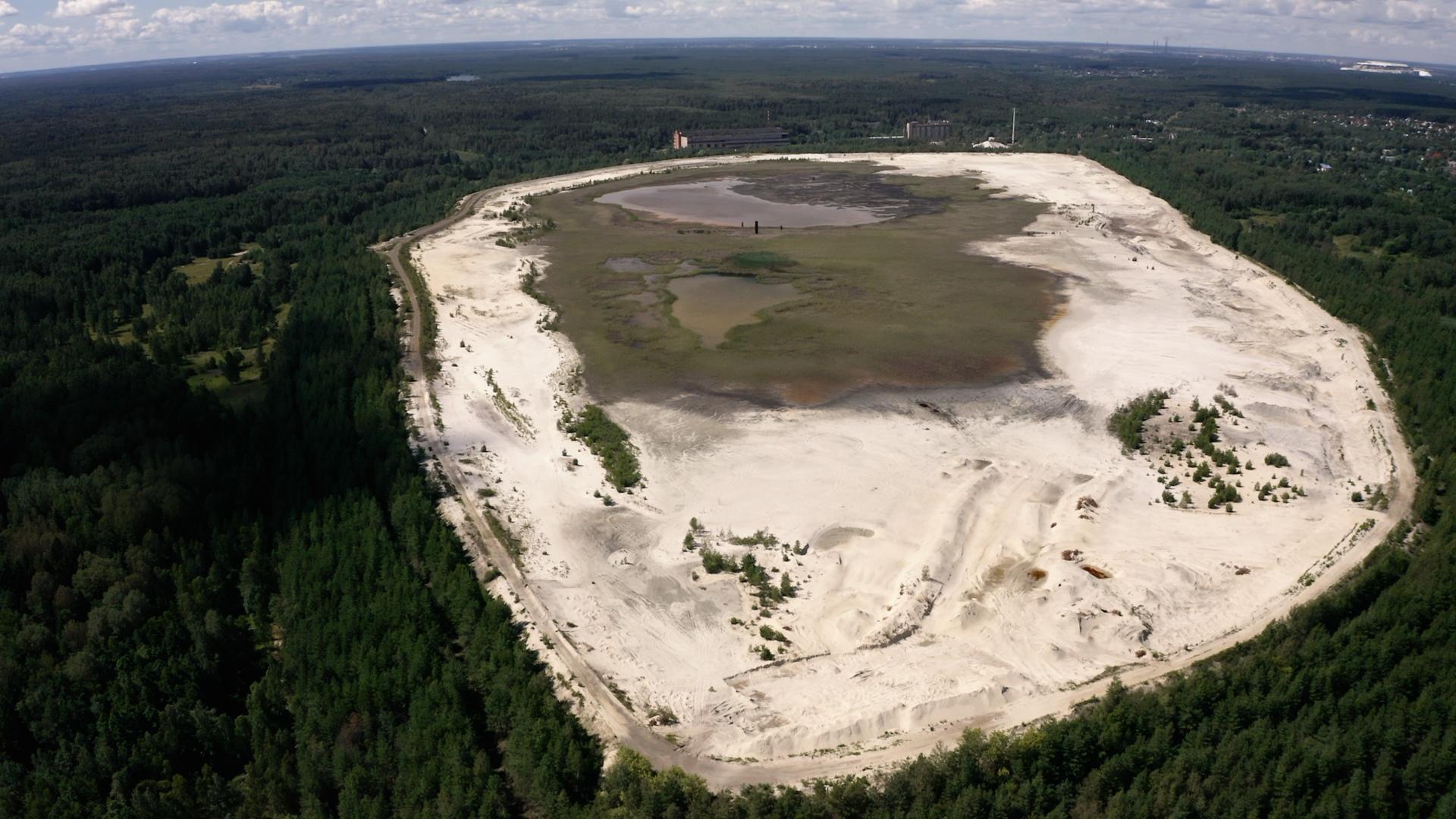 Заброшенный рудник возле Воскресенска